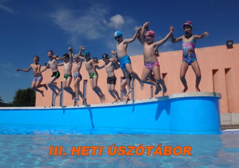 Úszótábor 3. hét